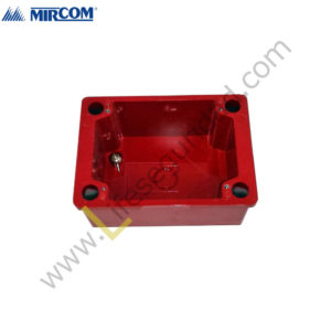 BB-700WP Caja BackBox Surface Weatherproof Roja