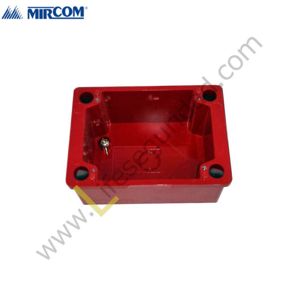 BB-700WP Caja BackBox Surface Weatherproof Roja 1