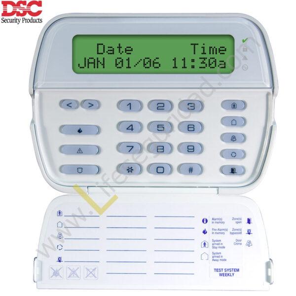 PK5500 Teclado Alfanumérico LCD de 64 Zonas PowerSeries PK5500 1