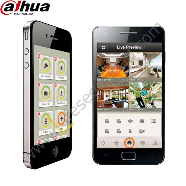 iDMSS Control de Cámaras DMSS para iOS / Android de Dahua 1