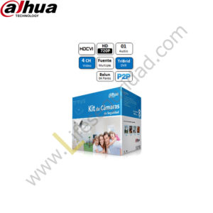 KIT-8CH-HDCVI-HDD KIT de 4 Cámaras – HDCVI 8Ch + HDD
