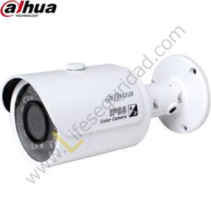 IPC-HFW1220S TUBO EXTERIOR | CMOS 1/2.7'' ICR | 2.0 MP | 1080P | IR: 30m | IP67 | PoE
