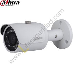 IPC-HFW1320S TUBO EXTERIOR | CMOS 1/3'' ICR | 3.0 MP | 1080P | 3.6mm | IR: 30m | IP67 | PoE