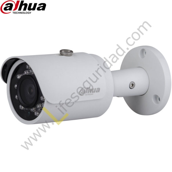"IPC-HFW1320SN-28 TUBO EXTERIOR | CMOS 1/3"" ICR | 3.0 MP | 1080P | 2"