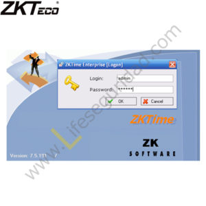 ZK-TIME 5.0 LICENCIA C.ASISTENCIA 20 DISPOSITIVOS 100 USUARIOS (SOLO 1 PC)