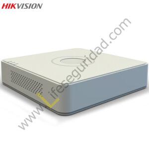 DS7104HWI-SL DVR 4CH / H.264 / RES. WD1 / DOMESTICO / SALIDA VGA /SOPORTA 1HDD / DUAL STREAM