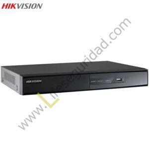 DS7204HWI-SHAL DVR 4CH / H.264 / RES. 4 CIF / VGA/HDMI 1080P /SOPORTA 1HDD / DUAL STREAM