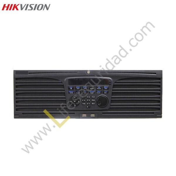 DS9632NI-XT NVR 32CH / HASTA 5MP / TASA BITS 160 MBPS / SALIDA HDMI/VGA / SOPORTA 16HDD / 2TCP/IP 10/100/1000TX 1