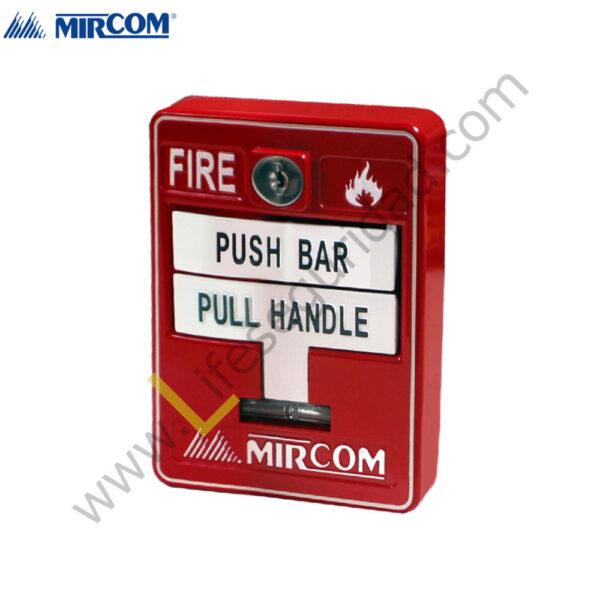 MS-710U Estación Manual Doble Accion con Llave de Seguridad 1