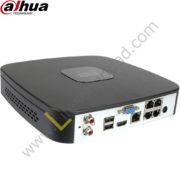 NVR2104 NVR 4CH | Hasta 2.0MP | TASA Bits 40Mbps | HDMI/VGA | 1 HDD | P2P | ONVIF