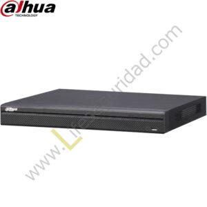 NVR5216-4KS2 NVR 16CH | Hasta 12MP | TASA Bits 320Mbps | HDMI/VGA | 2 HDD | P2P | ONVIF
