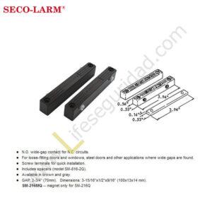 SM-216Q Contacto magnético semipesado marca Secolarm modelo SM-216Q
