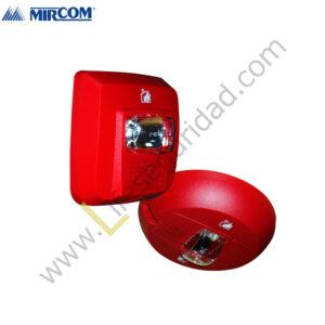 SYS-HS Sirena Estrobo Roja System Sensor
