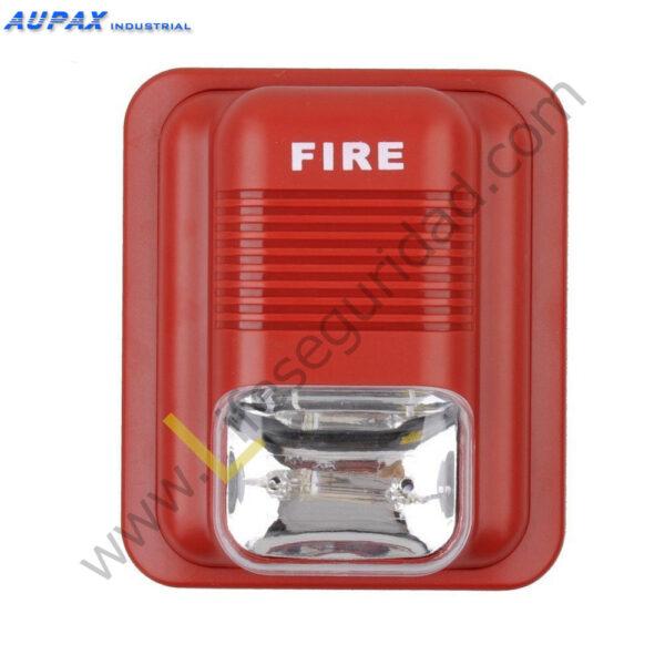 EPA-183B Sirena para alarma de Incendio con Luz Flash 1