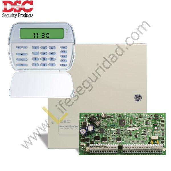 PC1832/PK5501 KIT DE ALARMA 8Z PC1832ICON DSC 1
