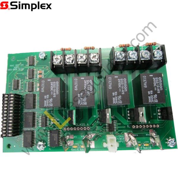 4009-9807 TARJETA DE EXPANSIÓN, 04 NACs DE 24VDC, CLASE B 1